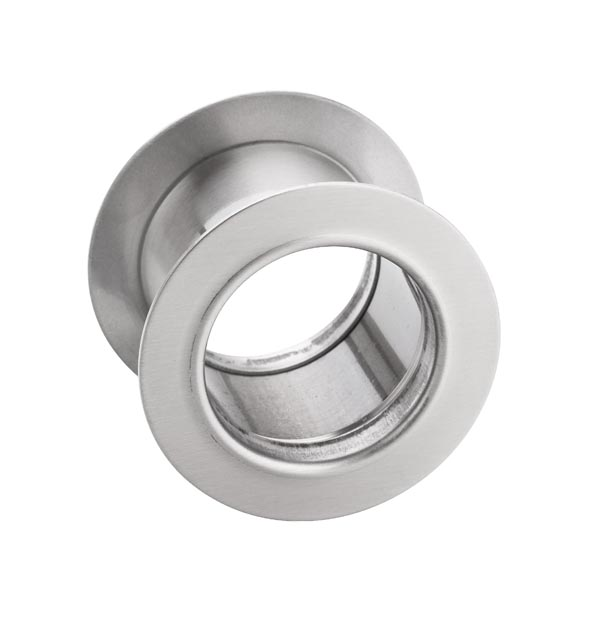 Tuleja WC metalowa okrągła Nikiel