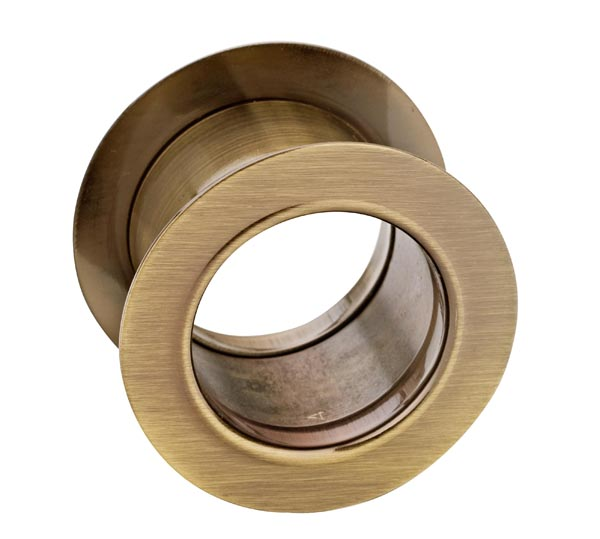 Tuleja WC metalowa okrągła Patyna